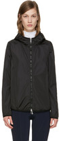 Moncler Black Vive Hooded Jacket