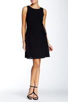 1 STATE 1.State Sleeveless Wrap Front Dress