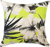 Hula Moon Yellow Stripe Cushion