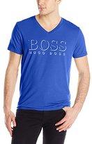 HUGO BOSS BOSS Men's UPF 50+ V-Neck Swim Shirt