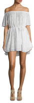 Finders Keepers Better Days Textured Ruffle Dress