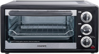Courant By Impecca Courant 6-Slice Toaster Oven with Convection and Broil