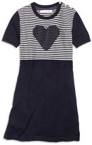 Brooks Brothers Short-Sleeve Cotton Heart Dress