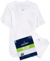 Jockey Men's Tagless Classic Collection Crew-Neck T-Shirt 3-Pack +1 Bonus