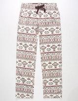 COSMIC LOVE Fair Isle Womens Fleece PJ Pants