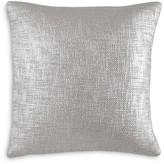 "DKNY Geo Matelassé Metallic Printed Decorative Pillow, 18"" x 18"""
