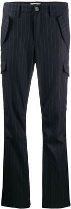 Zadig & Voltaire Multi-Pocket Pinstripe Trousers