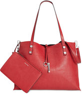 Calvin Klein Extra Large Reversible Tote with Pouch