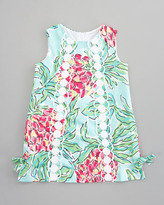 Lilly Pulitzer Sand Bar Blue Spike the Punch Print Dress