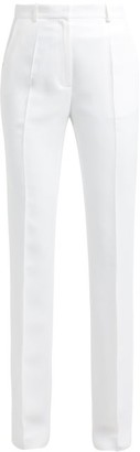 Pallas X Claire Thomson Jonville X Claire Thomson-jonville - Edison High Rise Crepe Trousers - Womens - White