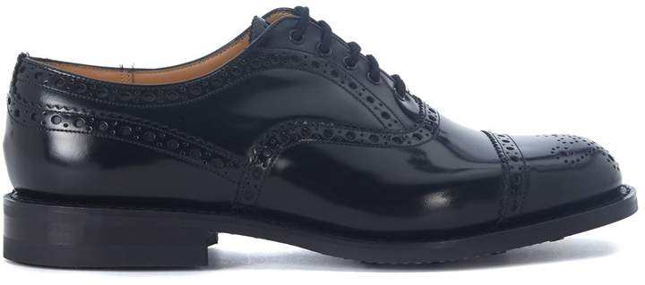Church's Scalford Black Brushed Leather Lace Up