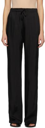 Ann Demeulemeester Black Moonrise Lounge Pants