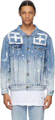 Ksubi Blue Denim Oh G Jacket