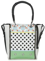 Barbara Rihl CO IN BALI ZIPPER MED White / Multicoloured