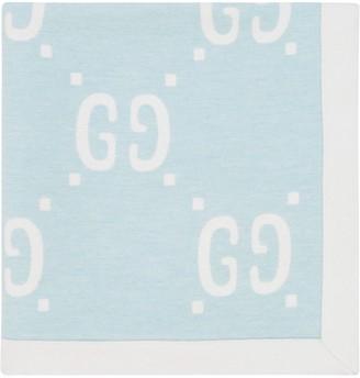 Gucci Kids Baby GG wool blanket