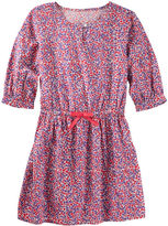 Osh Kosh Floral Print Poplin Dress
