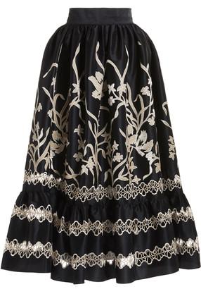 Biyan Nayara Printed Skirt