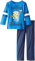 Universal Nutrition Despicable Me Little Boys' Toddler 2 Piece Top and Pant Set
