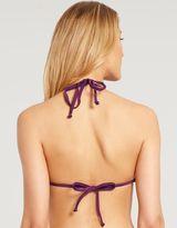Figleaves Marie Meili Samba Crochet Padded Triangle Bikini Top