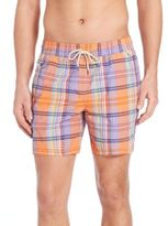 Polo Ralph Lauren Plaid Swim Trunks