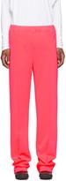 Random Identities Pink Dressy Track Pants