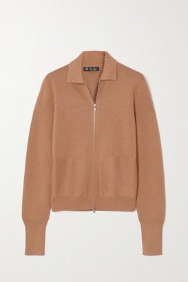 Loro Piana Cashmere And Silk-blend Jacket - Camel