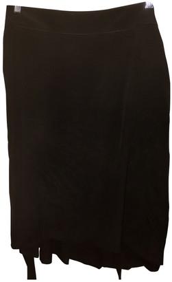 Philosophy di Alberta Ferretti Black Silk Skirt for Women