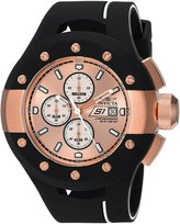Invicta Men's 'S1 Rally' Quartz Stainless Steel and Silicone Casual Watch, Color:Black (Model: 22439)