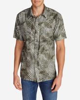 Eddie Bauer Men's Larrabee II Short-Sleeve Shirt - Print