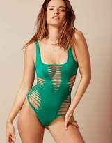 Agent Provocateur Dakotta Swimsuit Green
