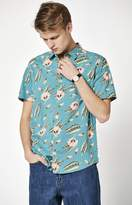 RVCA x Luke Pelletier Tropic Short Sleeve Button Up Shirt