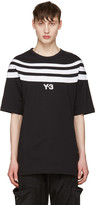 Y-3 Black Three Stripe T-Shirt