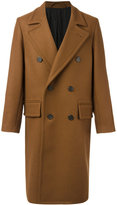 Ami Alexandre Mattiussi double breasted long coat - men - Wool/Polyimide - 44
