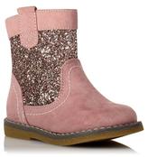 George Glitter Panel Boots