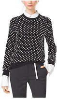 Michael Kors Pearl-Embroidered Cashmere Sweater