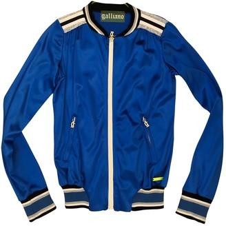 Galliano Blue Cotton Jacket for Women