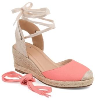 Journee Collection Monte Espadrille Wedge Sandal