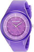 Skechers Women's 'Basic Strap' Quartz Plastic and Silicone Casual Watch