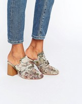Asos OMA Loafer Heeled Mules