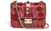 Valentino Lock Love Blade leather cross-body bag