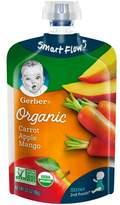 Gerber Organic 2nd Foods Baby Food Pouch Carrot Apple & Mango - 3.5oz