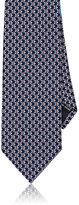 Salvatore Ferragamo Men's Fish-Print Silk Necktie