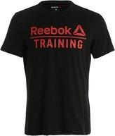 Reebok Print Tshirt Black