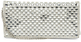 Metallic Evening Clutch With Chain