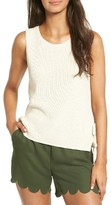 Madewell Women's Side Tie Sweater Tank