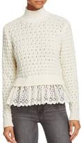 Rebecca Taylor Pop Stitch Pullover Sweater