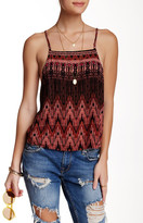 Free People Sundazed Crisscross Printed Cami