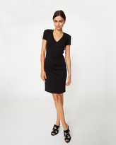 Nicole Miller Short Sleeve Dress