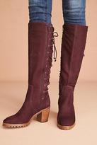 Bernardo Frances Lace-Up Boots