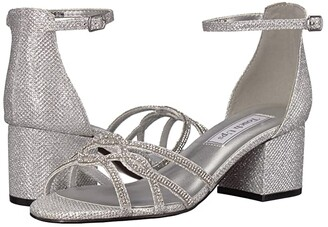 Touch Ups Zoey (Silver) Women's Bridal Shoes